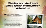 Shelley and Andrew's Deep South Honeymoon Adventure