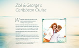Zoë and George's Caribbean Cruise
