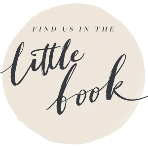 Find us in Little Book for Brides
