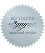 We've been approved as a pro-gay wedding vendor on So You're EnGAYged