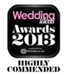 Highly Commended, Best Wedding Gift List, Wedding Ideas Awards 2013