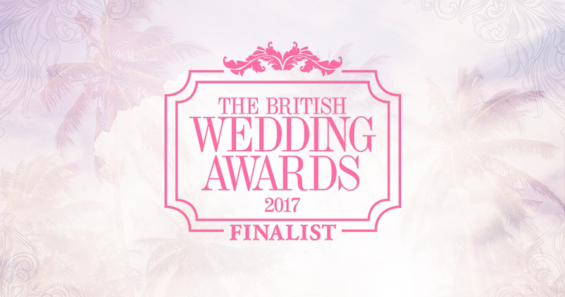 Finalists in the British Wedding Awards 2017