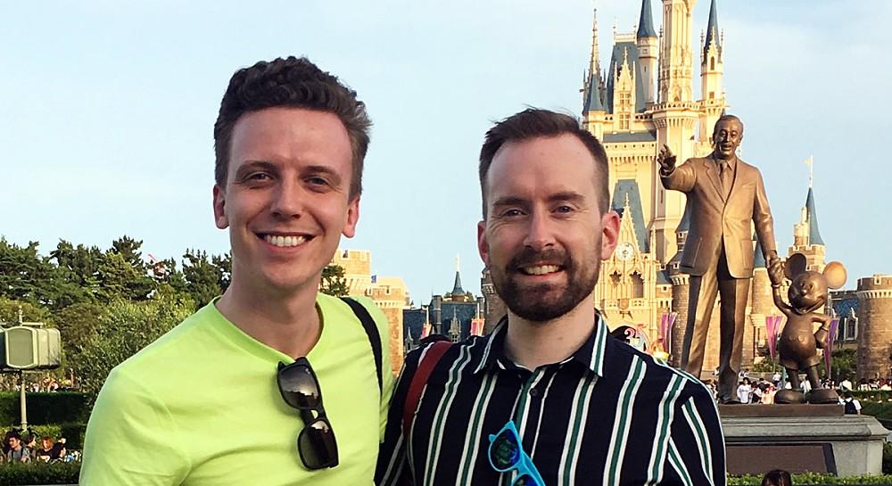 Ben and Dom - Tokyo Disneyland