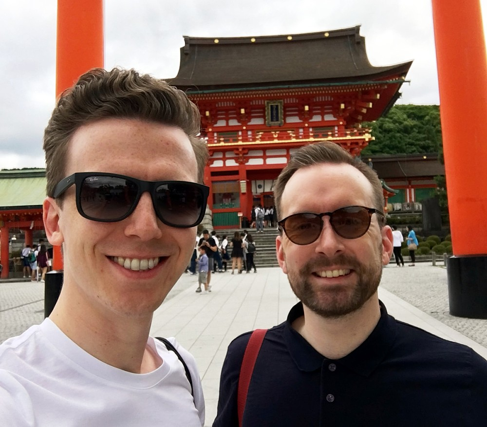 Ben and Dom - Japan