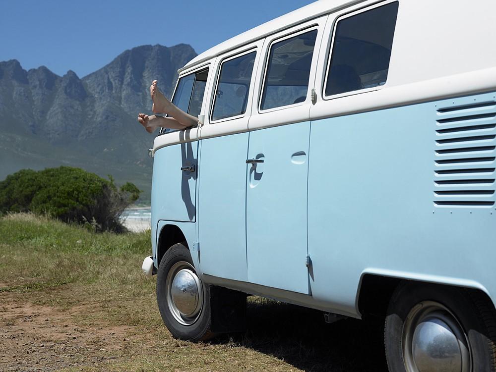Camper Van in New Zealand