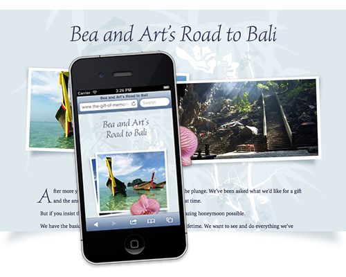 Bea and Art's Road to Bali